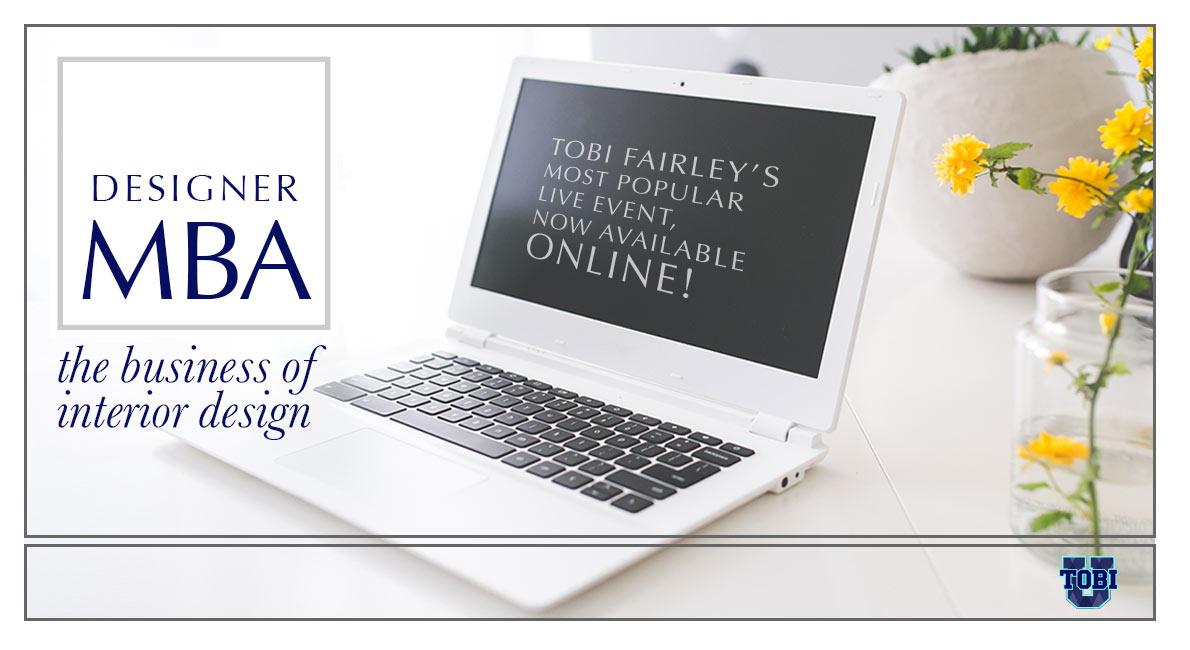 Tobi Fairley Designer MBA Series
